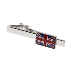Union Jack Tie Bar - Tie Clip