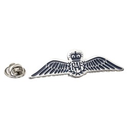 R.A.F. Large Wings Pin Badge