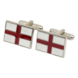 St George's Cross Flag Cufflinks