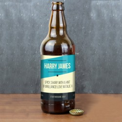 Personalised Bottle of Craft Beer