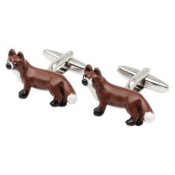 Brown Fox Cufflinks