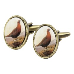 Vintage Grouse Cufflinks