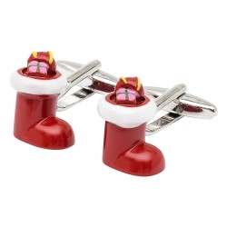 Christmas Stocking Cufflinks