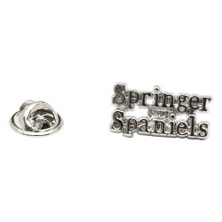 Springer Spaniel Lapel Pin Badge