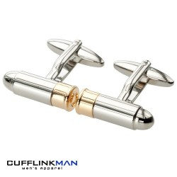 Bullet (Magnum) Cufflinks | Shooting Cufflinks | Weapon Cufflinks
