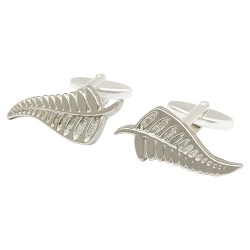 New Zealand Fern Cufflinks