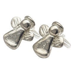 Pewter Guardian Angel Cufflinks