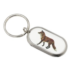 Fox Image Key Ring