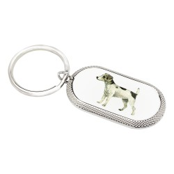 Jack Russell Dog Key Ring