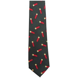 Red Gun Cartridge Country Silk Tie