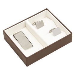 Chiltern Cufflinks & Money Clip Boxed Gift Set