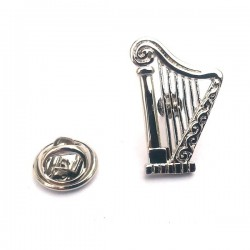 Celtic Harp Lapel Pin