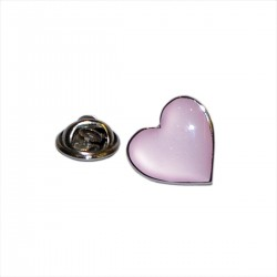 Pink Heart Lapel Pin