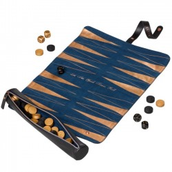 TED BAKER - Black Brogue Backgammon Set