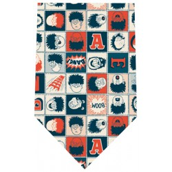 The Beano Dennis and Gnasher Silk Tie