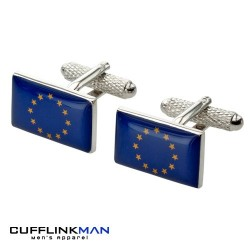 European Union Flag Cufflinks