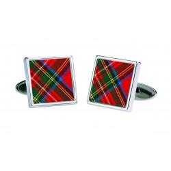 Royal Stewart Tartan Cufflinks
