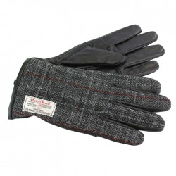 Berneray Harris Tweed Gloves - Medium