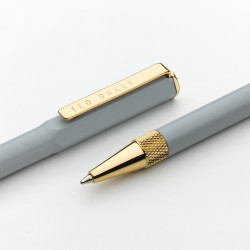 TED BAKER - Grey Spinel Ballpoint