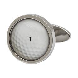Golf Ball Cufflinks by Sonia Spencer England