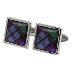 Black Watch Tartan Cufflinks