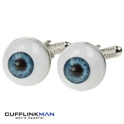 Big Blue-Eyes Cufflinks