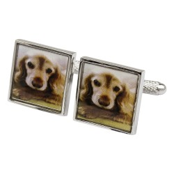 Cocker Spaniel Dog Cufflinks