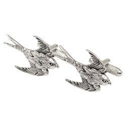 Swallow Bird Cufflinks