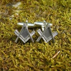 Pewter Masonic Cufflinks