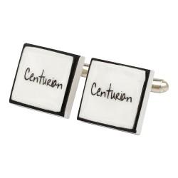 """Centurion"" Bone China Cufflinks"