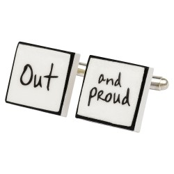Out and Proud Cufflinks