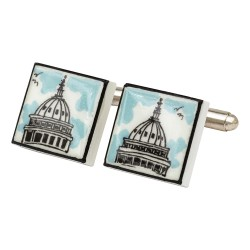 U.S. Capitol Building Bone China Cufflinks