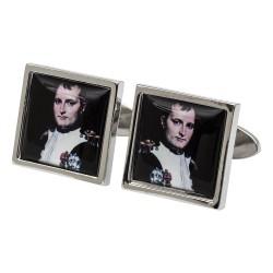 Napoleon Portrait Cufflinks