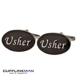 Oval Black - Usher