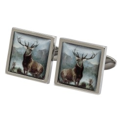 Monarch of the Glen Stag Cufflinks
