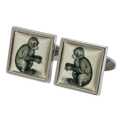 Durer Monkey Fine Art Cufflinks