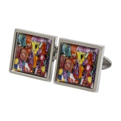 Klimt Multicoloured Cufflinks
