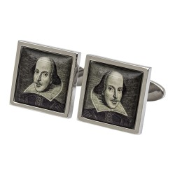 William Shakespeare Portrait Cufflinks