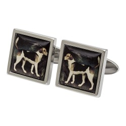 Stubbs - 'A Foxhound' Gallery Collection Cufflinks