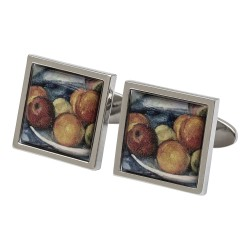Cezanne Fruit Bowl Fine Art Cufflinks
