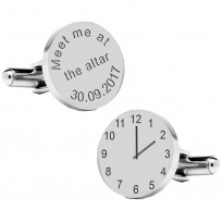 Meet Me At The Altar Wedding Cufflinks