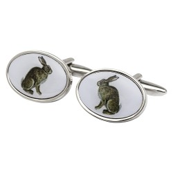 Hare Image Cufflinks