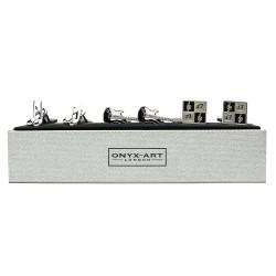 Music Cufflinks - 3 Pairs Gift Set - By Onyx-Art
