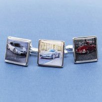 Car Photo Cufflinks Personalised - Your Car on Cufflinks