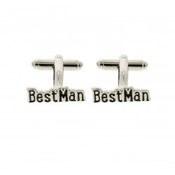 Modern Lines Best Man Cufflinks