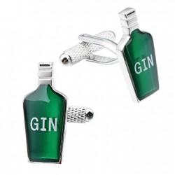 Gin Bottle Cufflinks