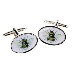 Bumble Bee Cufflinks | Insect Cufflinks