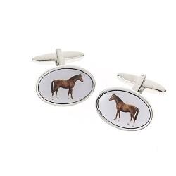 Standing Horse Cufflinks