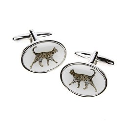 Tabby Cat Cufflinks