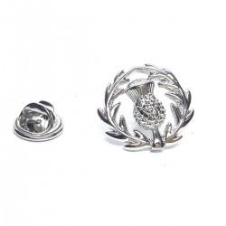 Scottish Thistle Crest Lapel Pin